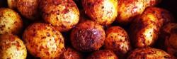¿Cómo cocinar papas cambray con chile de árbol?