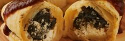 ¿Cómo hacer rollitos de queso de cabra y huitlacoche?