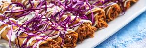 ¿Cómo preparar tacos fritos de chilorio?