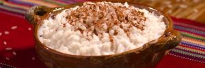 ¿Cómo preparar arroz con leche de rompope?